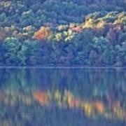 Rednor Lake Reflections - 1 Art Print