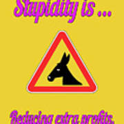 Reducing Bigstock Donkey 171252860 Art Print