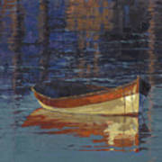 Sold Reflecting At Day's End Art Print