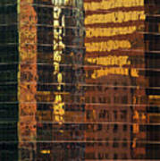 Reflecting Chicago Art Print