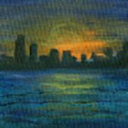 Reflecting Night Art Print