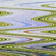 Reflection Abstract Abstract Art Print