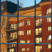 Reflection Le Selection Art Print by Elisabeth Van Eyken