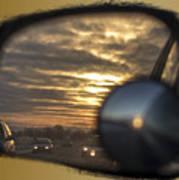 Reflection Of A Sunset Art Print