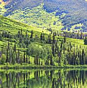 Reflections Alaska II Art Print