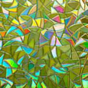 Reflections In A Window Art Print