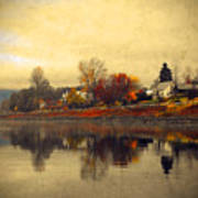 Reflections In Nakusp Art Print