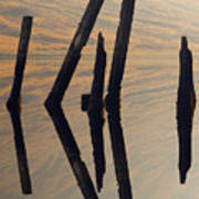 Reflections Loch Etive Art Print