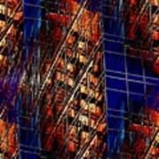 Reflections Of A City 3 Art Print