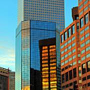 Reflections Of Denver Art Print