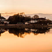 Reflections Of Emsworth Art Print