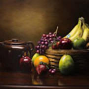 Reflections On A Bean Pot Art Print
