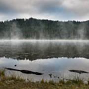 Reflections On Reflection Lake 2 Art Print