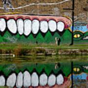 Reflective Canal 12 Art Print