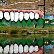 Reflective Canal 13 Art Print