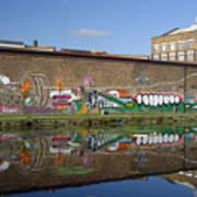 Reflective Canal 6 Art Print