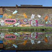 Reflective Canal 7 Art Print