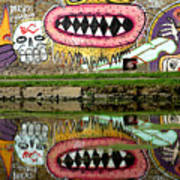 Reflective Canal 9 Art Print