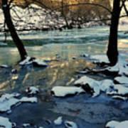 Reflective Chill Art Print