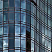 Reflective High Rise Building Art Print
