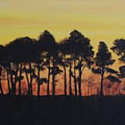 Refuge Sundown Art Print