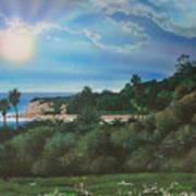 Refugio Point 4 Art Print