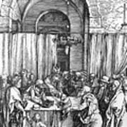 Refusal Of Joachim Offer 1503 Art Print