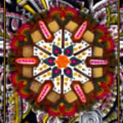 Regal Mandala Art Print