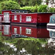 Regent Houseboats Art Print