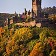 Reichsburg Castle Art Print