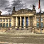 Reichstag Building  Art Print by Jon Berghoff