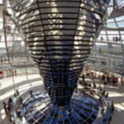Reichstag In Berlin Art Print