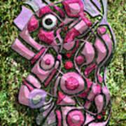 Relaxing Piglet Art Print