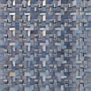 Relief N3 Chrome Art Print