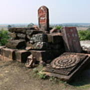 Remains At Bhojpur Art Print