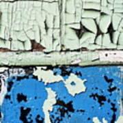 Remains Of A Door Art Print