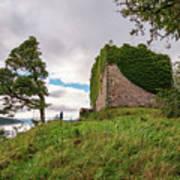 Remains Of Castle Lachlan Art Print