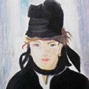 Remake Portrait Of Berthe Morisot Art Print