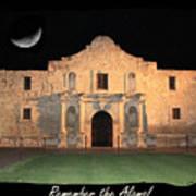 Remember The Alamo Art Print
