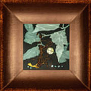 Remembrance Iv With Frame Art Print