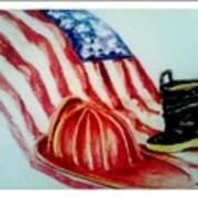 Remembering 9/11 Art Print