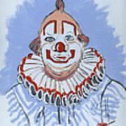 Remembering Clarabelle The Clown Art Print