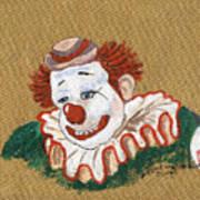 Remembering Felix Adler The Clown Art Print