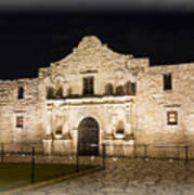 Remembering The Alamo Art Print