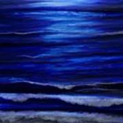 Remembering The Waves Art Print
