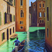 Remembering Venice Art Print