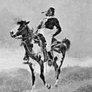 Remington: Comanche, C1890 Art Print