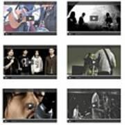 Remix - Videos  Page Art Print