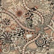 Renaissance Tangle Art Art Print