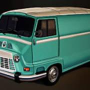 Renault Estafette 1959 Painting Art Print